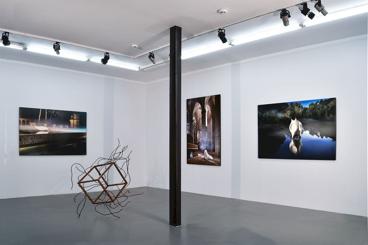 Flesh _ Sky, 11.12 Gallery, Center for Contemporary Art Winzavod, Moscow, 2018